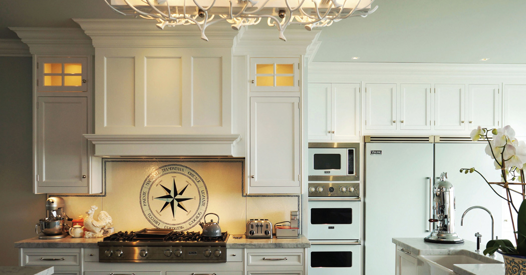 Bakes and kropp redirect for Colonial style kitchen cabinets
